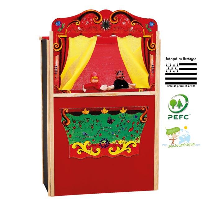 les th tres de marionnettes pour enfants bien plus qu 39 un jeu blog jeujouethique. Black Bedroom Furniture Sets. Home Design Ideas