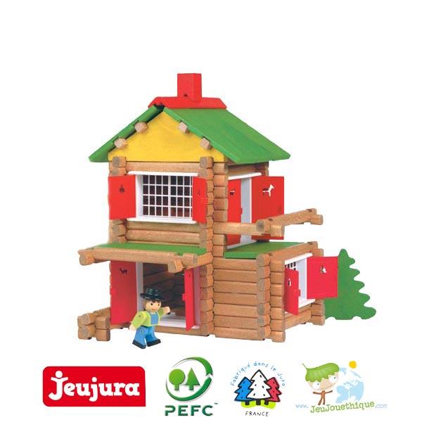 la maison foresti re de jeujura un jeu de construction