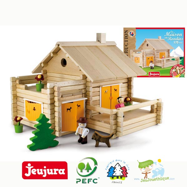 La maison foresti re de jeujura un jeu de construction - Jeu de construction de maison virtuel ...