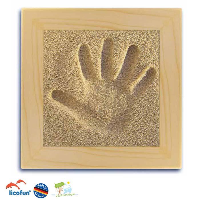 71d46046a04b9 Empreintes pour bébé ou enfants   des kits 3D à réaliser soi-même ...